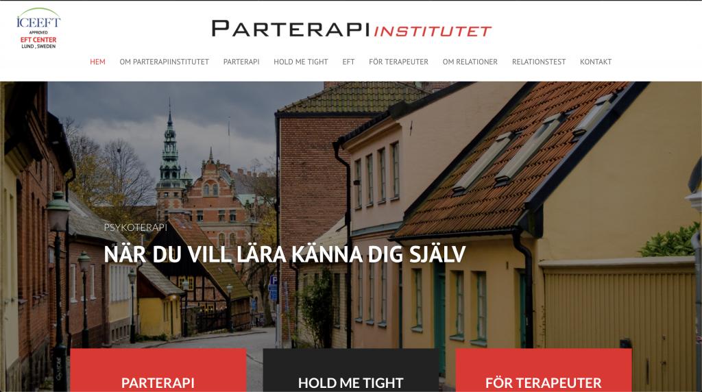 Parterapiinstitutet är ett EFT Center i Skandinavien.