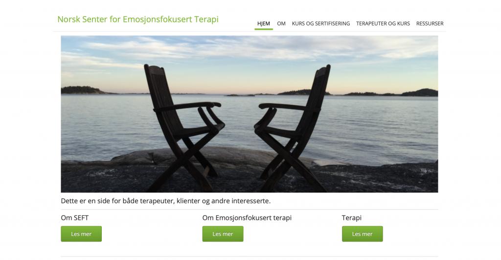 Norsk Senter for Emosjonsfokusert terapi är ett EFT Center i Skandinavien